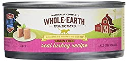 Whole Earth farms wet cat food pate recipe