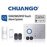 CHUANGO 1 gsm/SMS/RFID Touch Alarm System, Blanco
