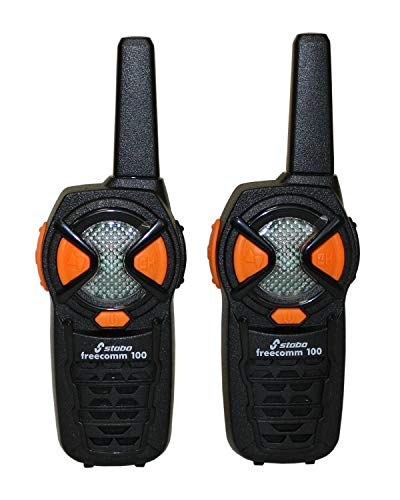 Stabo Elektronik - Walkie Talkies Frecomm 100, Cubre hasta 10 km