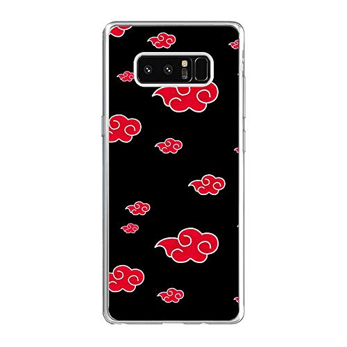 Clear Soft Rubber Protector Liquid Case Back Compatible for Samsung Galaxy Note 8-Kakashi-Hatake Copy-Ninja 4