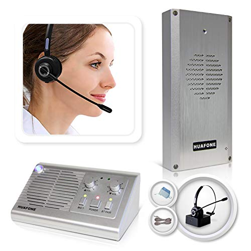 (Kit #2): Long-Range Ultra-Capacity Wireless Headset Drive Thru Intercom System with SmartSpeaker (Gen 2)