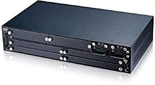 ZyXEL OLT2406 2U - Chasis de 6 Ranuras para conexión de Red óptica pasiva, de Banda Ancha, con óvalo GPON