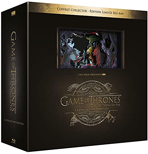 Game Of Thrones - Edition Collector Limitée - L'intégrale des saisons 1 à 8 [Blu-ray] [Collector Limitée]