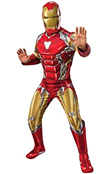Rubie s Men s Marvel Avengers  Endgame Deluxe Iron Man  New  and Mask Adult Sized Costumes As Shown Extra-Large US