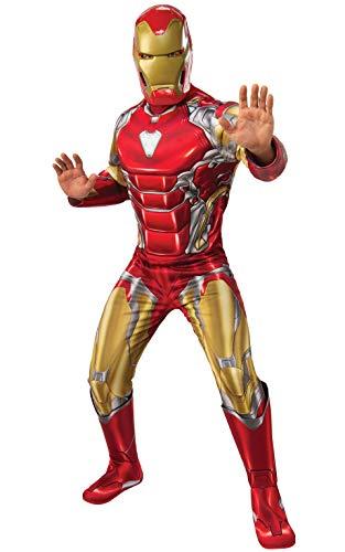 Rubies - Disfraz Oficial de Los Vengadores Endgame Iron Man, para Hombre Adulto