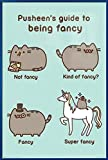 Jigsaw Puzzles 1000 Pusheen The Cat - Framed Poster/Print (Pusheen's Guide to Being Fancy)