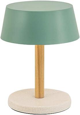 Amazon.com: Lámpara de mesa de cristal transparente ...