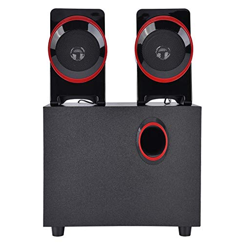 Check Out This Liyeehao Wood + Plastic Soundbar, Bass Boost Plastic-Steel Mesh Mini Speaker, USB 5V ...