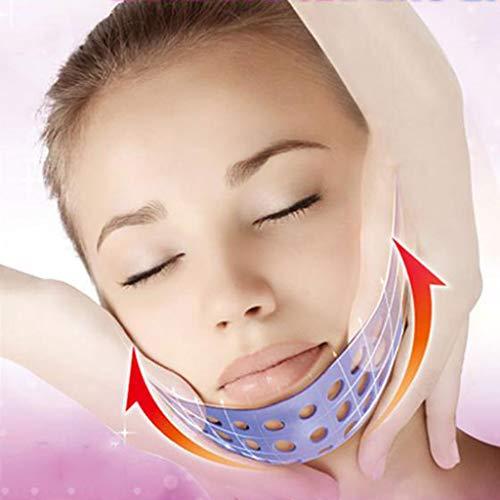 Bande de Visage Amincissant, Face-Lift Bandage Silicone Relaxation du Visage Masque de Massage Ceinture Shaper Facial