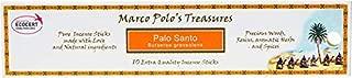Marco Polo's Treasures Palo Santo Incense Sticks, Palo Santo, Pack of 10