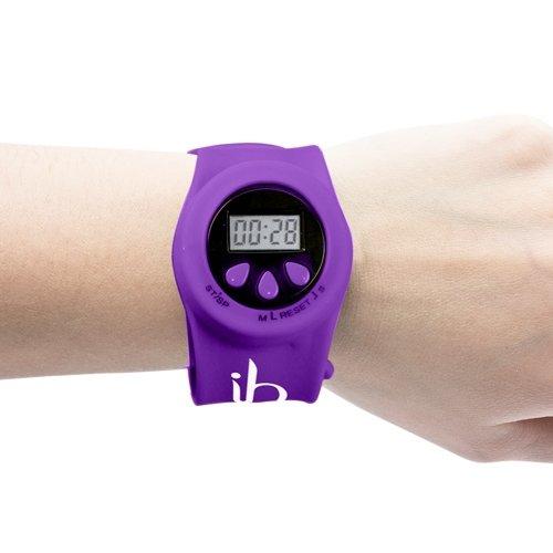 Minuteur bracelet digital pour coiffeurs, Violet