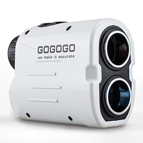 携帯型レーザー距離計 ゴルフスコープ光学6倍望遠 ゴルフ用 軽量 速度測定 連続測定軌道補正 角度データ 操...