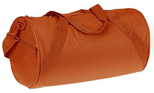 Liberty Bags Shoulder Strap Barrel Duffel Bag (8805) (Burnt Orange) One size