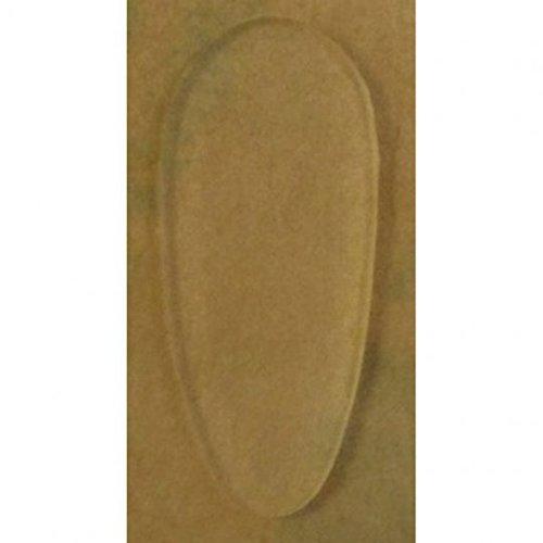 2 Paar (4 Stück) Nasenpads zum aufkleben aus Silikon - 4 Größen - Höhe 0,85mm (13mm)