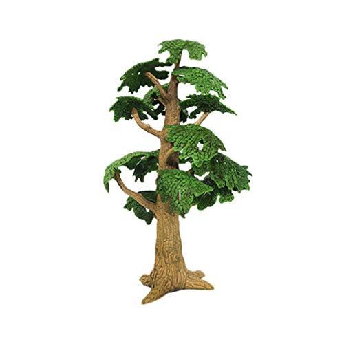 Toyvian Baum Modell Gefälschte Miniatur Bäume Zug Eisenbahnen Architektur Landschaft Landschaft Simuliert Mini Kiefer Zypresse Modell für DIY Landschaft Handwerk Projekt Größe L