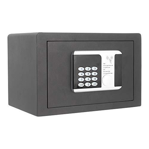 Profirst Cassaforte per mobili, frequenza 1 serratura RFID, antracite, 35 x 25 cm, materiale di fissaggio