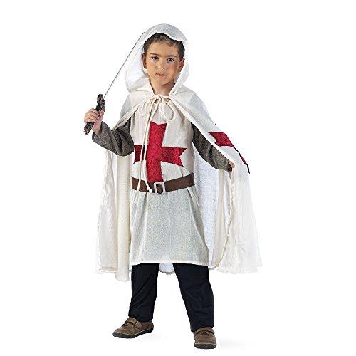 Limit Sport - Disfraz de templario medieval para nio (MI711)