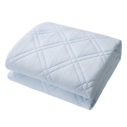 Kinga 敷きパッド ひんやり 接触冷感 ベッドパッド 立体メッシュ構造 優れた通気性 サラッとした肌触り ズ...