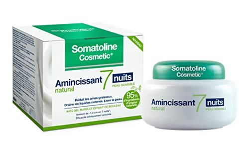 Somatoline Cosmetic Amincissant 7 Nuits Natural Peau Sensible 400 ml