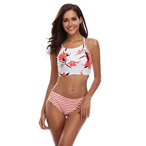 XSY Mujer Traje de Baño Dos Piezas Bikini Playa Vestidos Ropa Tallas Grandes