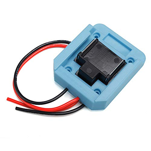 Fit for MAKITA 18v Battery Power Mount Connector Adapter Dock Holder with 14 awg Wires