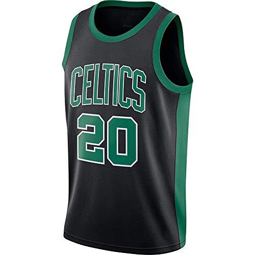 ZNMJW Celtics # 20 Gordon Jersey Basketbal Game Trainingspak Klassiek Mouwloos Outfit