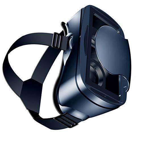 Gafas VR, 3D VR Auriculares Compatible con iPhone y Android, VR Glasses Visión Panorámico 360 Grado Película 3D Juego Immersivo para Móviles 5.0-7.0 Pulgada con Lente Ajustable. O258XB