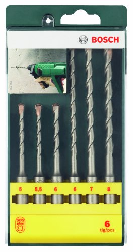 Bosch 6 Piece SDS Plus Drill Bit Set