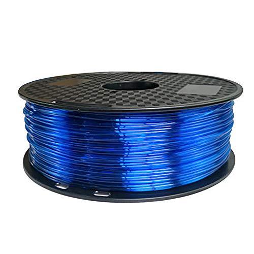 Flexible TPU Filament 3D Printing Filament, 1.75mm TPU, 1kg Bobbin, Dimensional Accuracy +/- 0.05mm
