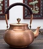 TONGS Tè Di Rame Bollitore Domestico Ti Liang Pot Pot Di Rame Facile a Uso / A2 / 1100ML