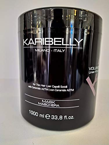 Mascarilla para el pelo seco VOLUMIZING LINE Con Olor a Avena Anti-Encrespamiento (curly) Karibelly 1000ml