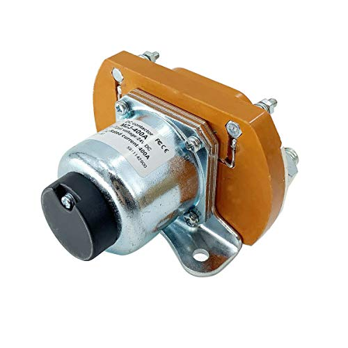 SUDEG [Solenoid 24V Main Contactor Solenoid for Golf Cart Replacement,Contactor Solenoid,MZJ-400A 400A Universal and