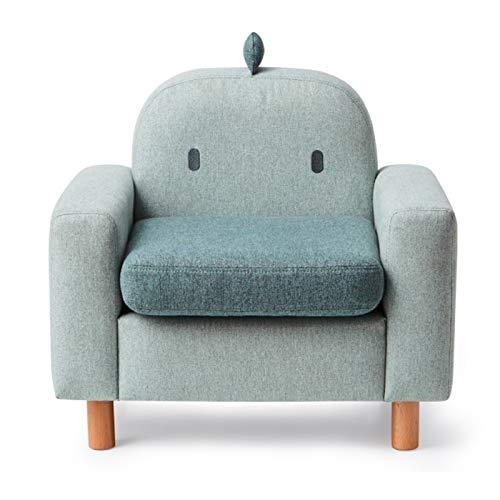 XLSQW Chair Chair Chair Chair's Chair Chair Sedia Carino Cartoon Mini Dimensione Divano Sedia, Tessuto Singola per Bambini Poltrona per Bambini Seggiolino per Bambini, con Gambe in Legno,C