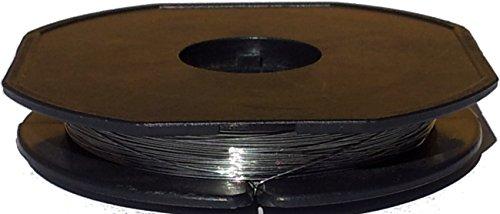 10 Meter Nichrom Nickel-Chrom Heizdraht Ø 0,40mm - AWG 26 (Grundpreis: EUR 0,50/m) Heizleiterdraht - Widerstandsdraht - resistance heating wire 0.016
