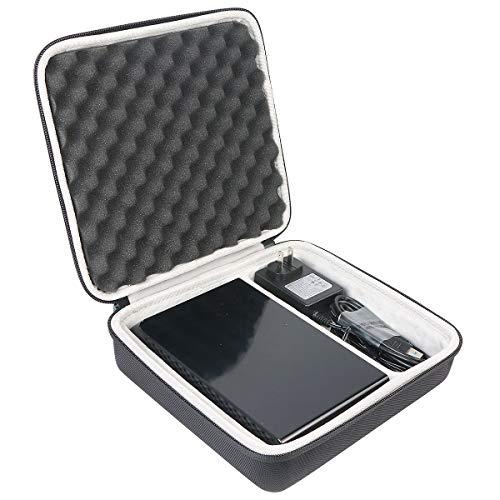 Khanka Case Schutzhülle Tasche Für Seagate Backup Plus Hub 3 4 6 8 10 TB Externe Desktop Festplatte 3,5 Zoll. (Für Backup Plus HUB, Für 3 4 6 8 10TB)