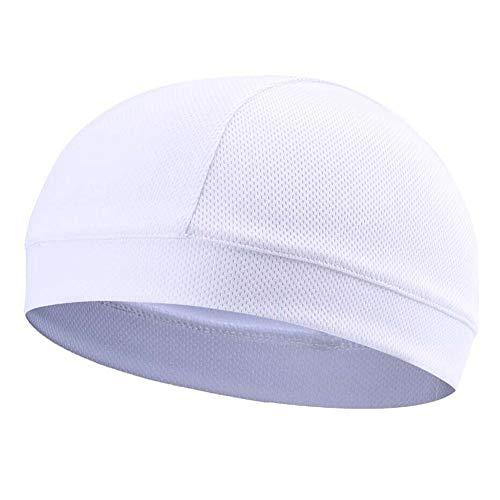 Keepbest Schnell trocknende Kappe, feuchtigkeitstransportierend, kühlend, Innenfutter, Helm, Beanie, Kuppel, Schweißband