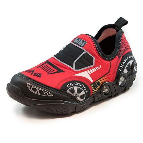 Tênis Infantil de Led Sem Cadarço Carro Bibi
