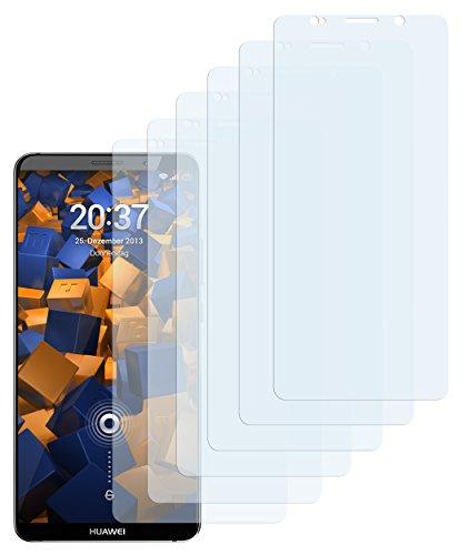 mumbi Schutzfolie kompatibel mit Huawei Mate 10 Pro Folie klar, Bildschirmschutzfolie (6x)