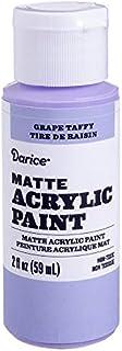 Darice DPCS186-63 Matte Grape Taffy, 2 Ounces Acrylic Paint,