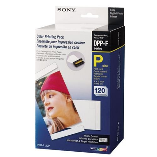 Sony Photo Paper + 2 Cartridges - Cartucho de tinta para impresora ...