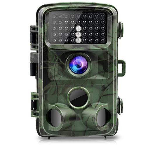 TOGUARD Trail Camera 14MP 1080P Game Cameras with Night Vision Motion Activated Waterproof Wildlife...