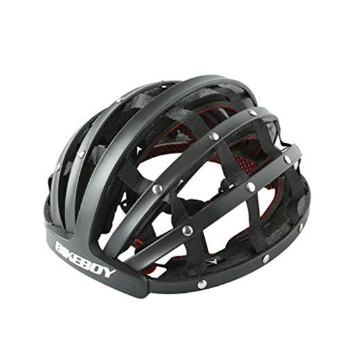 JM- Bicicleta Bicicleta de montaña Bicicleta de Carretera Casco de Ciclismo Plegable...
