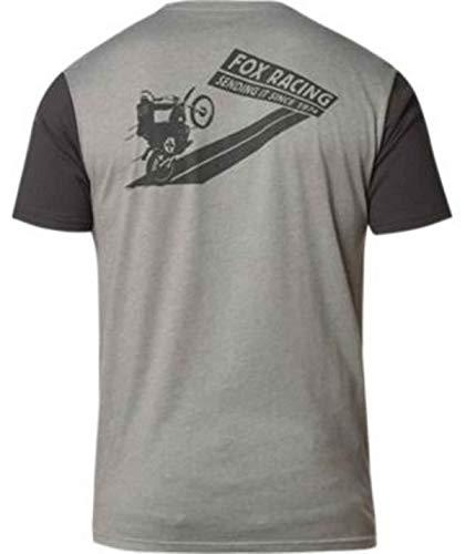 Fox Sending IT Heather Graphite - Camiseta gris S