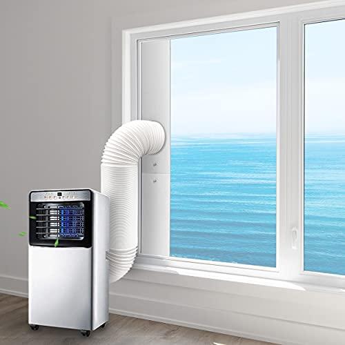 iYuePeng Tubo Condizionatore Portatile 13cm,Prolunga Tubo Scarico Aira Condizionatore Portatile 2 metri di Lunghezza,Perfetto per Impianti di Climatizzazione,Asciugatrici e Cappe Aspiranti