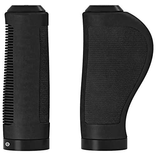 Brooks England Ergonomic Rubber Grips, Grip Unisex-Adulto, Nero, 100/130mm