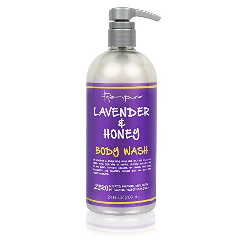 Renpure Lavender & Honey Body Wash, 24 Oz (pack Of 3)