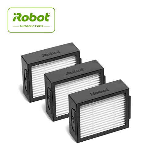iRobot  Authentic Replacement Parts- Roomba e and i Series High-Efficiency Filter, (3-Pack),White - 4639161 Dining Features Home Kitchen Robotic Vacuums