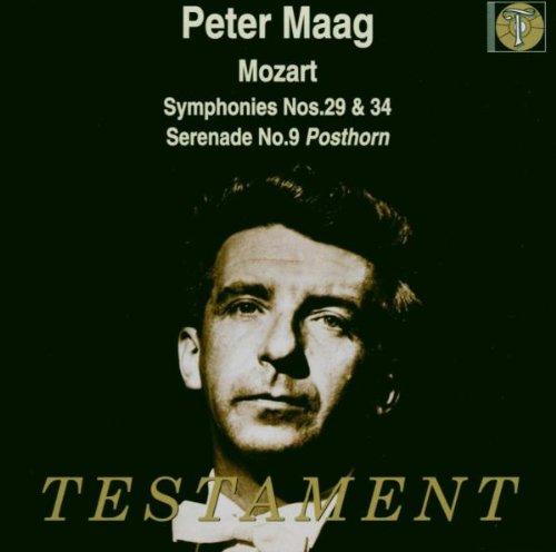 Symphonies N°29 Et 34, Sérénade N°9