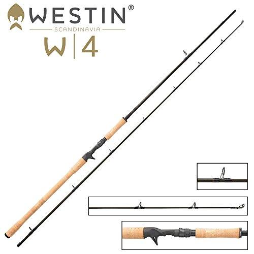 Westin W4 Powershad-T 3XH 255cm 60-180g - Schwere Spinnrute für Bodden zum Jiggen von Bigbaits, Gummifischen & Jigs, Castingrute