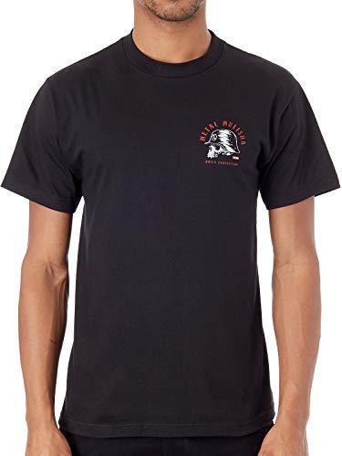 Metal Mulisha Men's Inked Short Sleeve T Shirt Black XL